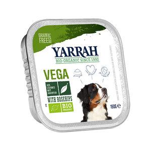 Yarrah - Natvoer Hond Kuipje Chunks Vega - 12 x 150 g kopen