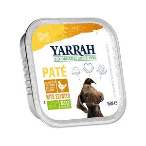 Yarrah – Natvoer Kuipje Paté met Kip – 12 x 150 g