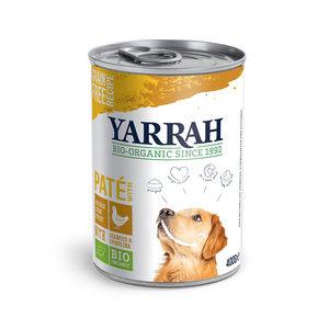 Yarrah - Paté Huhn mit Spirulina & Meeresalgen in Soße Bio 12x400 g