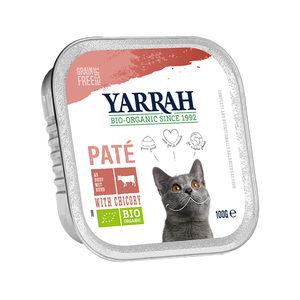 Yarrah - Paté Kat Kuipje met Rund Bio - 16 x 100 g kopen