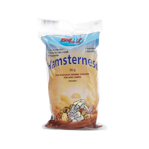 Zoobest Eetbare Knaagdierwatten - Wit - 30 g